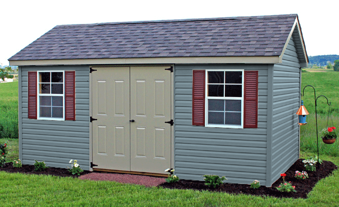 Shed color visualizer pa custom sheds md for Siding and roof color visualizer