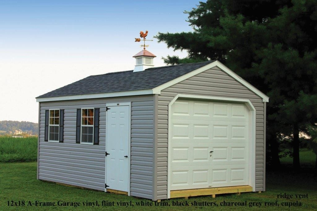 A frame sheds in mount joy pa a frame sheds md for 12x14 garage door