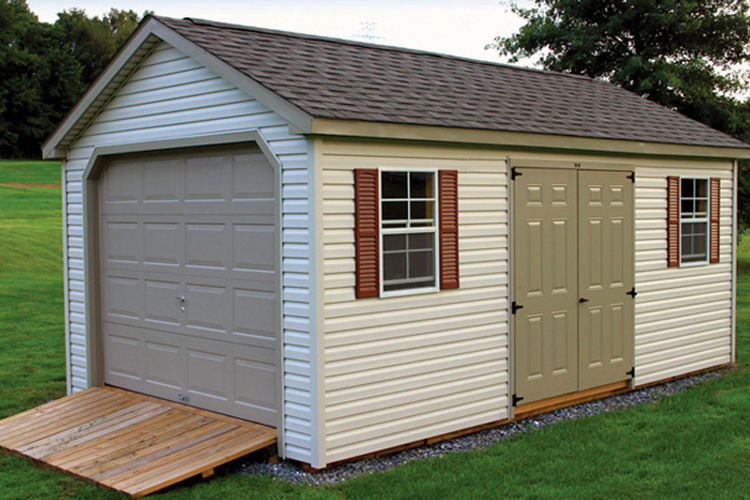 Amish Garages In Pa : Custom storage sheds lancaster pa amish built md
