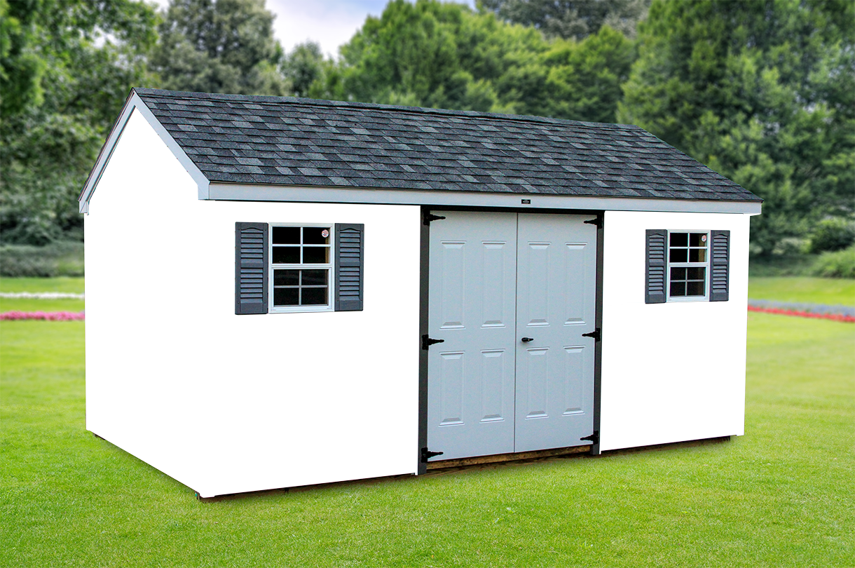 Shed color visualizer glick woodworks for Siding and roof color visualizer