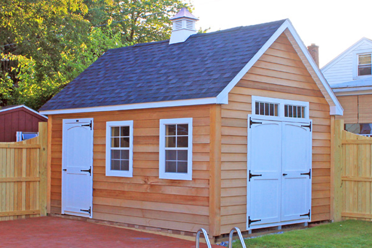 Garden Sheds Nj custom amish sheds for lancaster pa, md, nj & de | glick woodworks