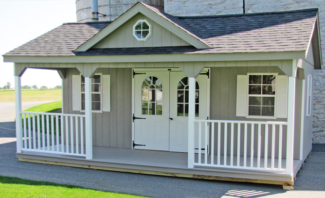 Custom Victorian Shed