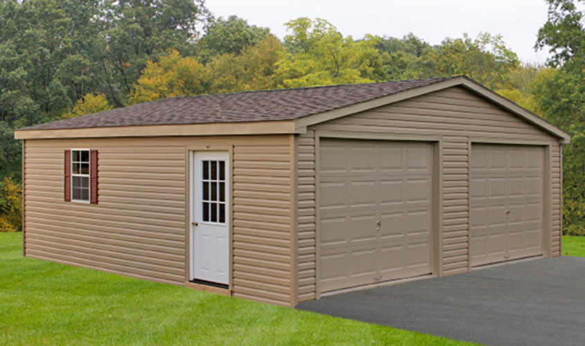 2 car garage kits like this item garage apartment for How wide is a 3 car garage
