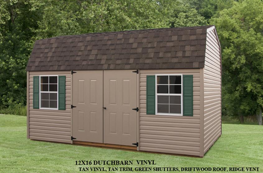 12x16 Dutch Barn