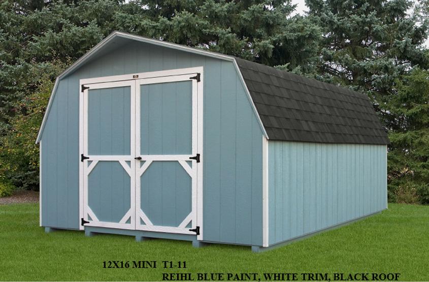 12x16 Mini Barn