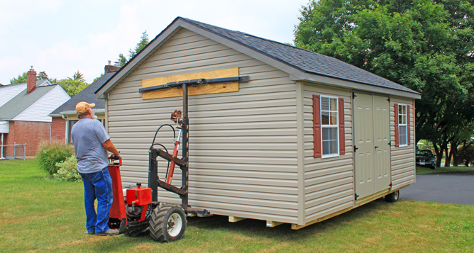 Custom Shed Delivery MD