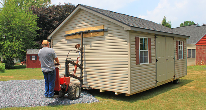 Custom Shed Delivery PA