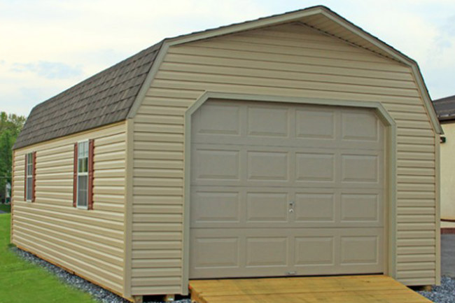 Amish built garages garage builders lancaster york pa for Garage built homes