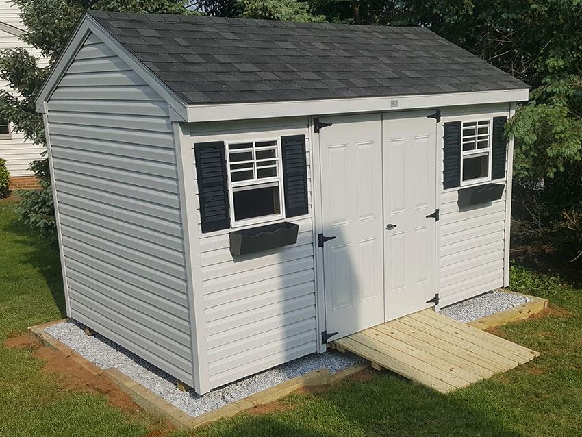 a frame sheds