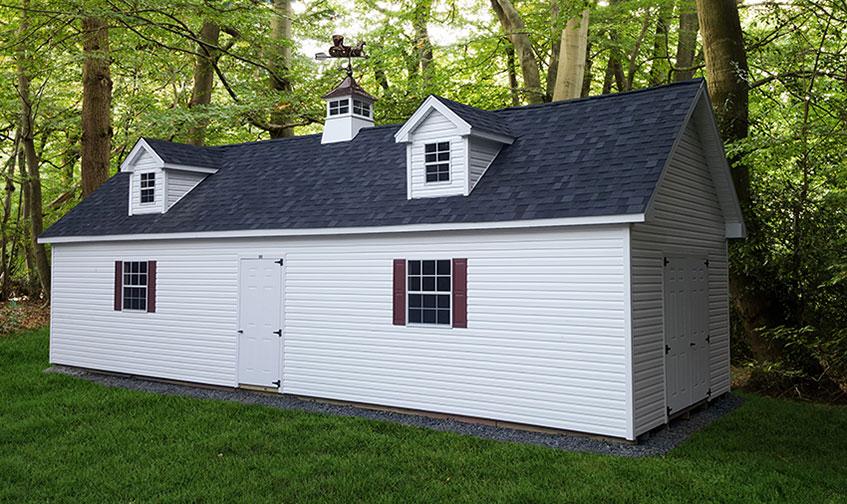 Custom Amish Sheds For Lancaster PA, MD, & NJ | Glick Woodworks