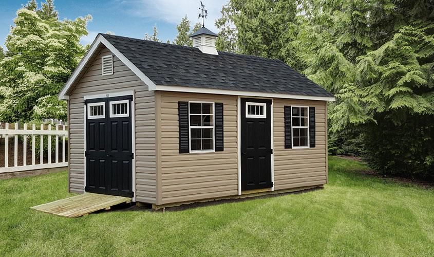 Custom Amish Sheds For Lancaster PA, MD, & NJ   Glick Woodworks