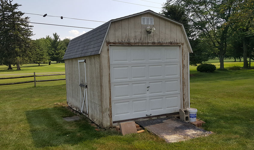 Storage Shed Removal Glick Woodworks