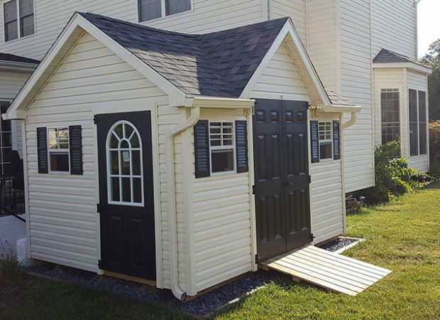 Matching Your Vinyl Shed Design to Your House