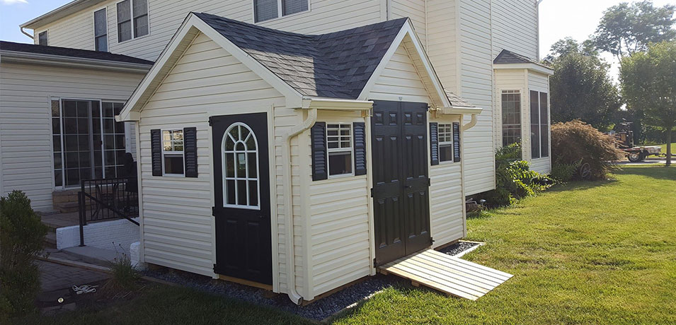Matching Your Vinyl Shed Design To Your House Glick Woodworks