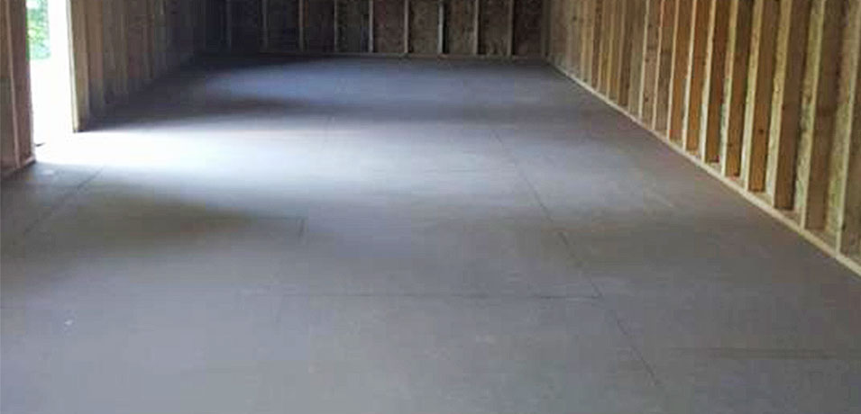 custom shed flooring