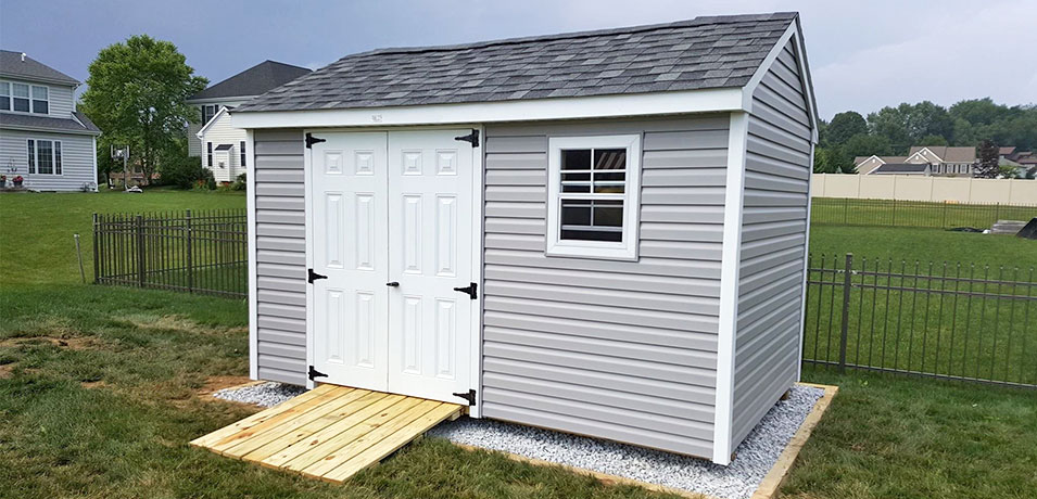 durable shed siding