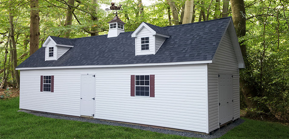 clean 14x36 elite vinyl shed