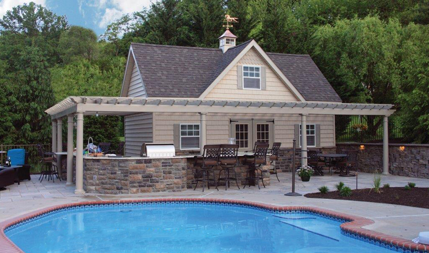 pool house shed in lancaster pa