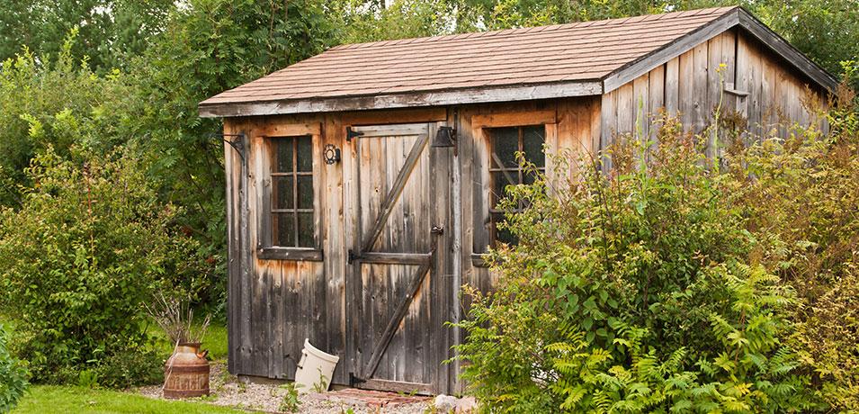 garden shed repair