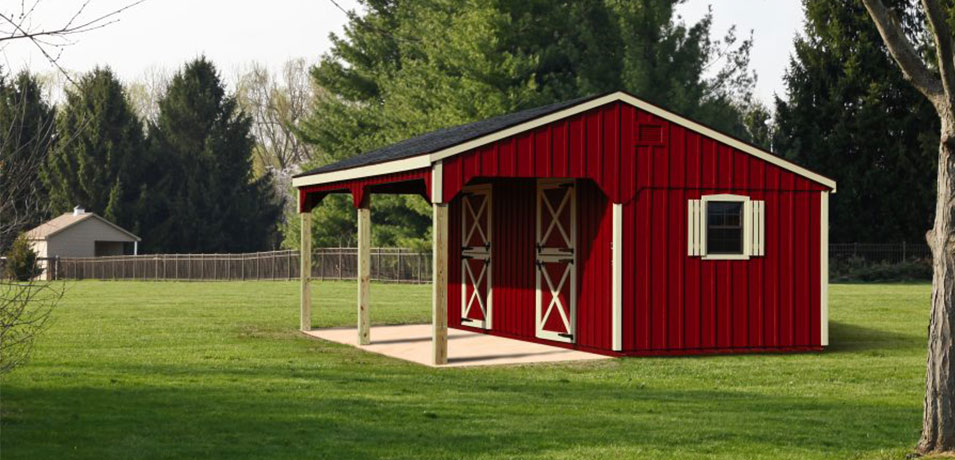 cost to build a horse barn