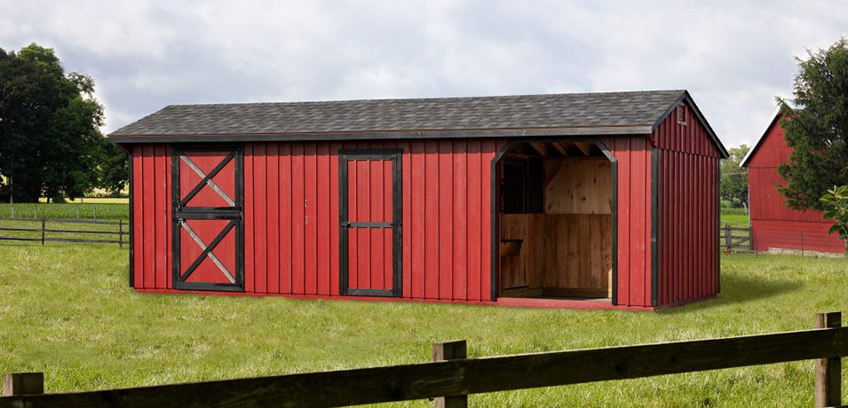 shed row barn prices