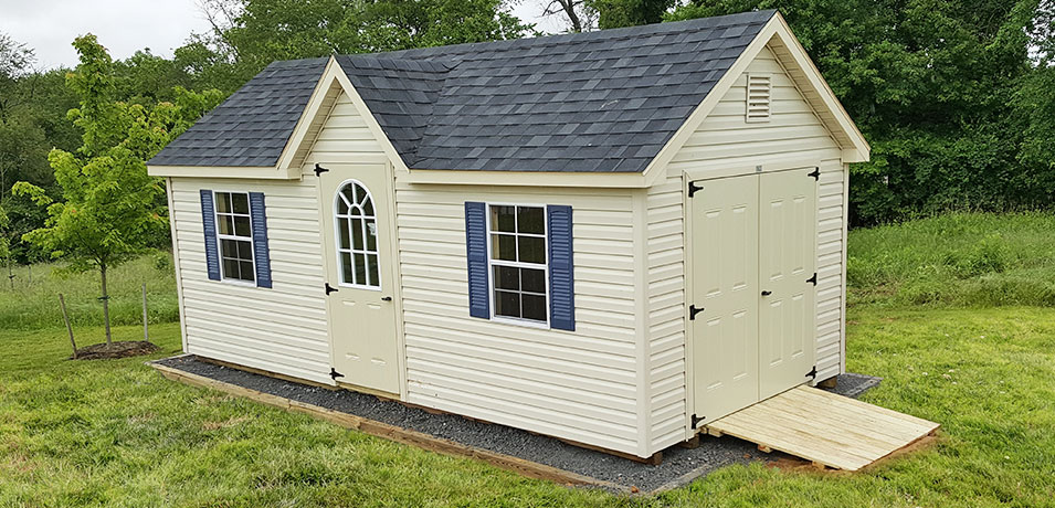 10x20 victorian vinyl shed prices
