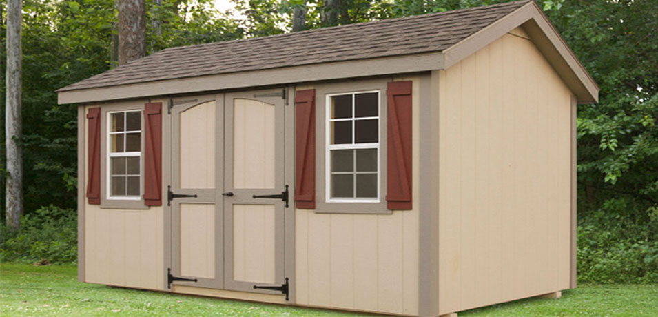 8x12 classic a-frame amish shed price