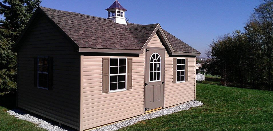 professionally-built amish sheds