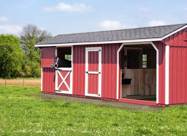Comparing Horse Barn Styles: Run-in Shed vs Shed Row Barn