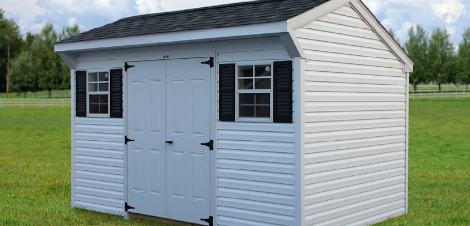 shed siding color