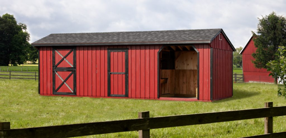 low-cost barns