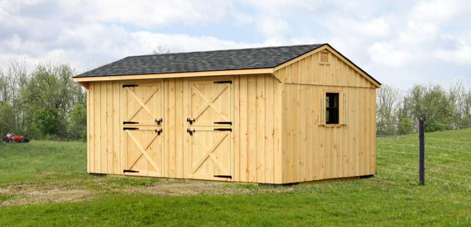low-cost stall barn