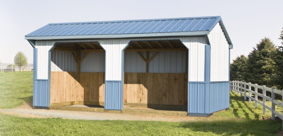 small horse shelters