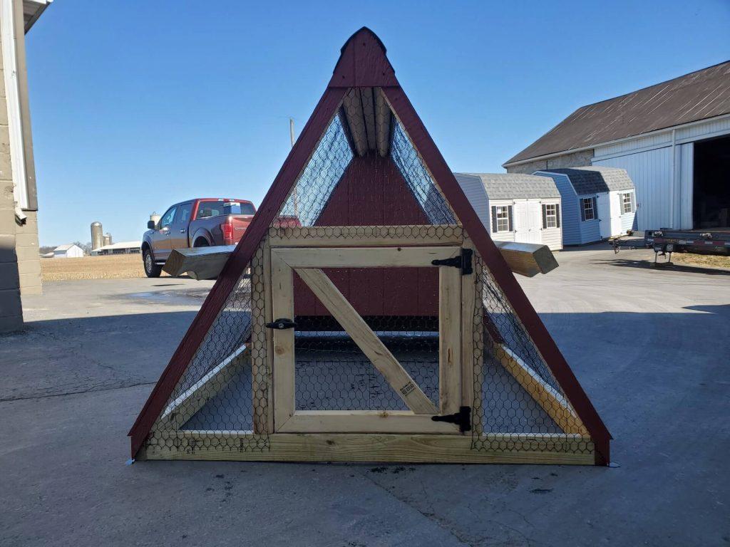 amish chicken coop door