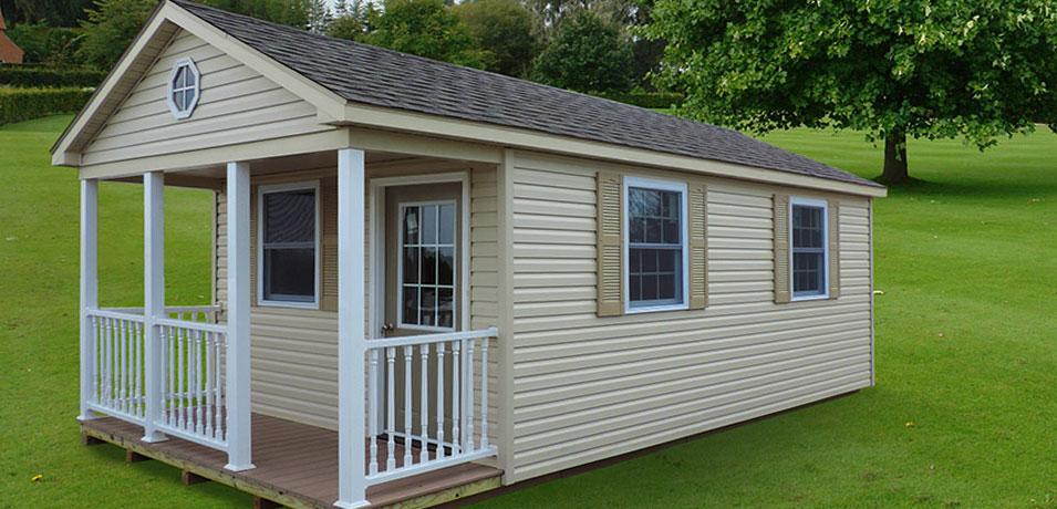 unique lawn porch shed