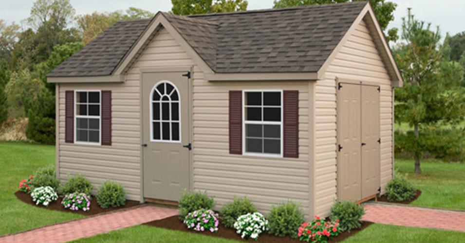 elite victorian shed