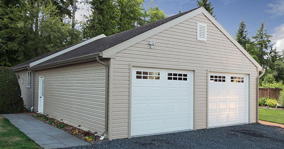 garages built on site