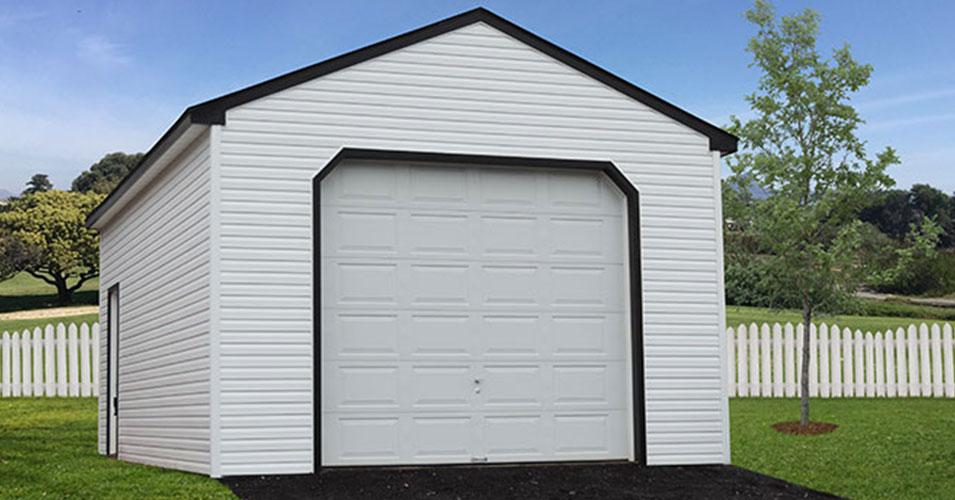 single wide custom garage
