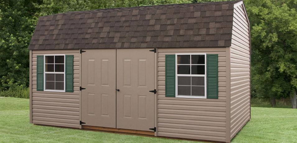 dutch barn style shed