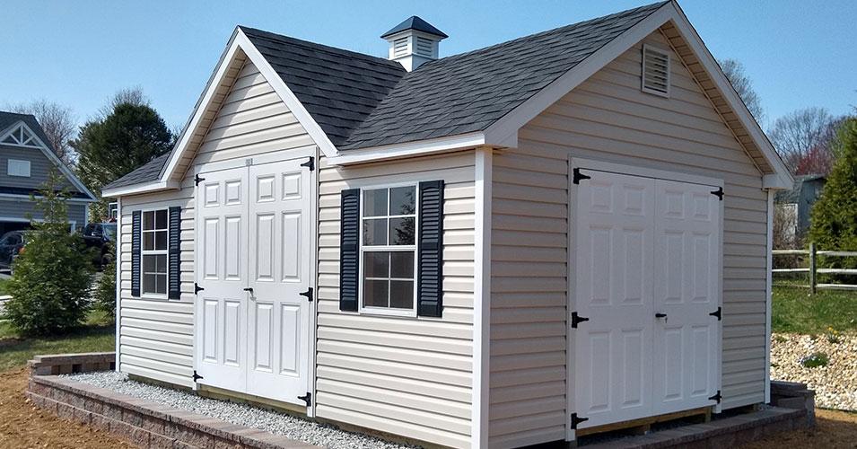 custom shed design